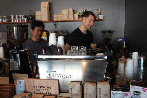 Yeekai Lim and Western Barista Champ Nick Griffith