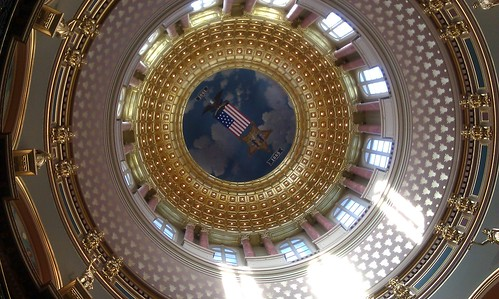 Iowa Statehouse Rotunda by shane_vanderhart