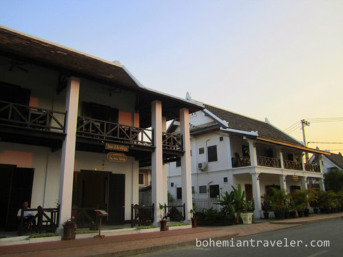 Architecture in Luang Prabang
