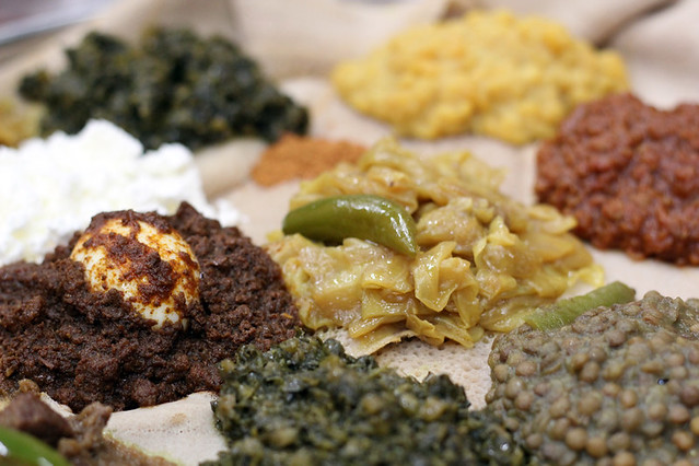 Ethiopian food in America