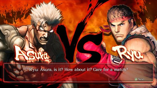 Street Fighter Characters Invade Asura's Wrath