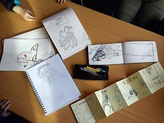 our sketchbooks