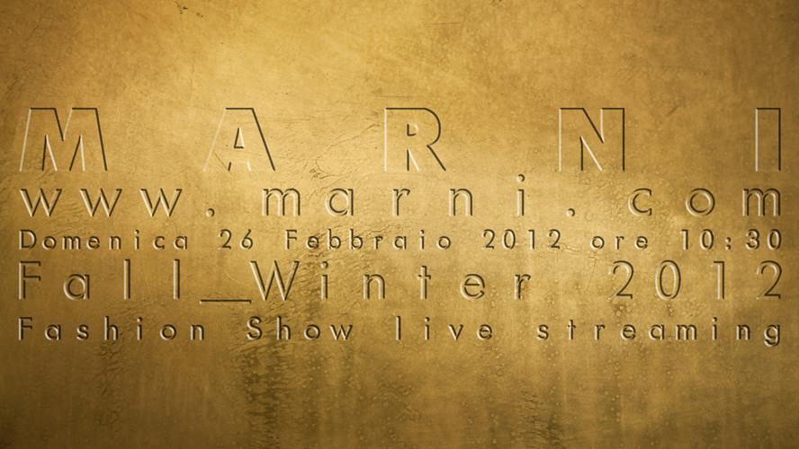 Marni FW12 show