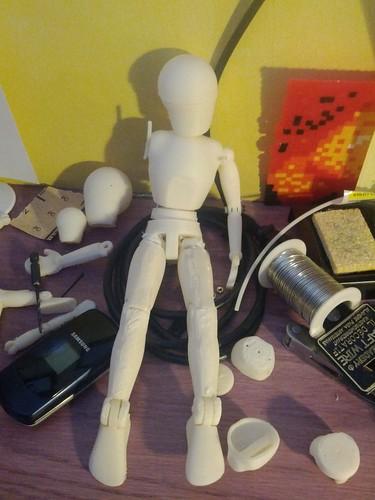marionette in progress by owenscenic