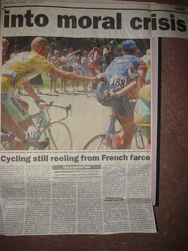 1998 Tour de France - Pantani and Jemison