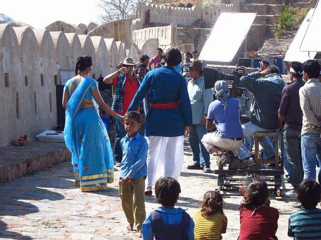 Bollywood Filming