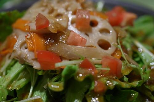 Kinpira salad