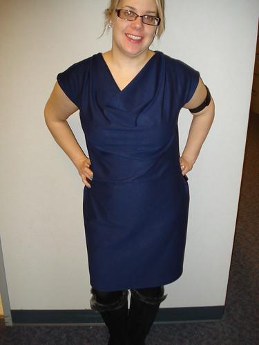 DKNY Pattern Dress