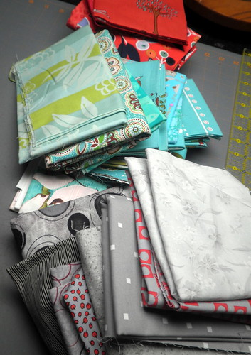 Fabric collection for Craftster QAL