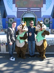 Chip 'N Dale with Chris and John