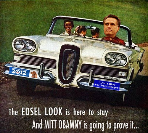 MITT OBANEY FOR EDSEL by Colonel Flick