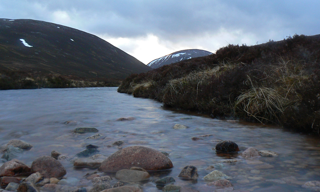 River Gairn, early evening