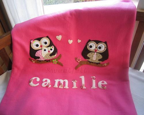 ♥♥♥ Para a Camille... by sweetfelt \ ideias em feltro