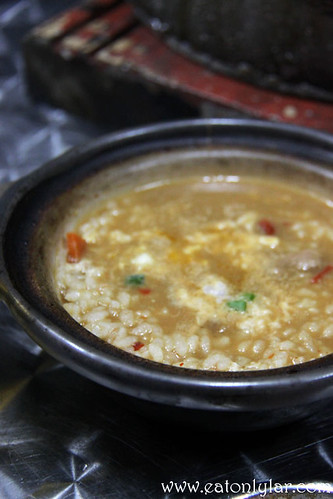 Japanese Risotto (Stewed Rice with Egg), Gerai Makan Japanese BBQ