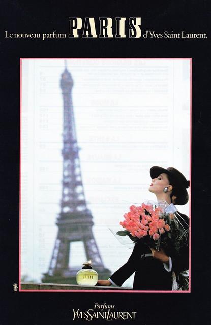 1983 - YSL - Paris perfume