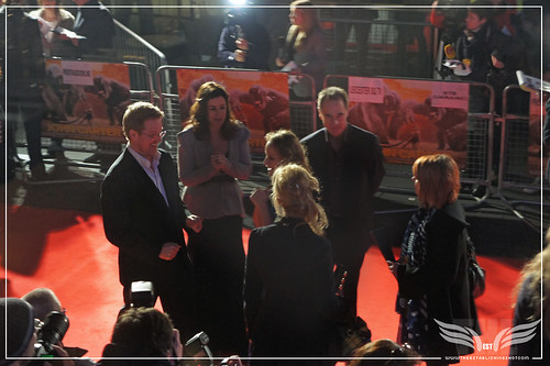 The Establishing Shot: UK John Carter Premiere Red Carpet Director Andrew Stanton, Producers Lindsey Collins & Jim Morris and Samantha Morton - BFI, London by Craig Grobler