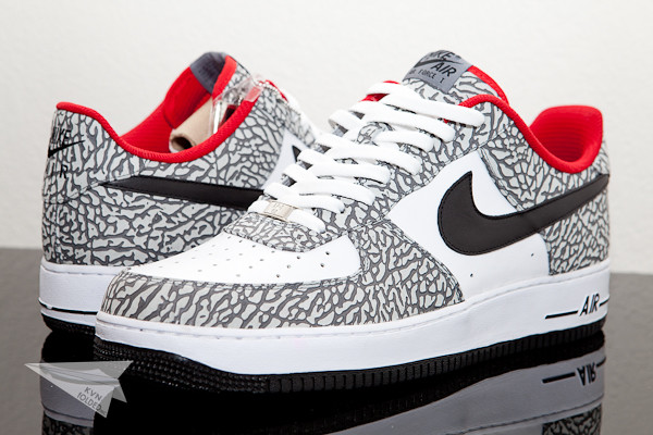 Nike Air Force 1 Supreme ID's