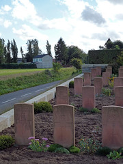 Courcelles-Au-Bois Communal Cemetery Extension
