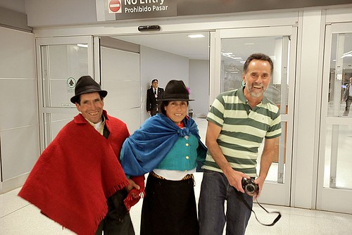 Baltazar, Carmen and Rodrigo arrive in New York.