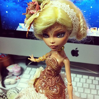 W.I.P...back to Monster High Customs