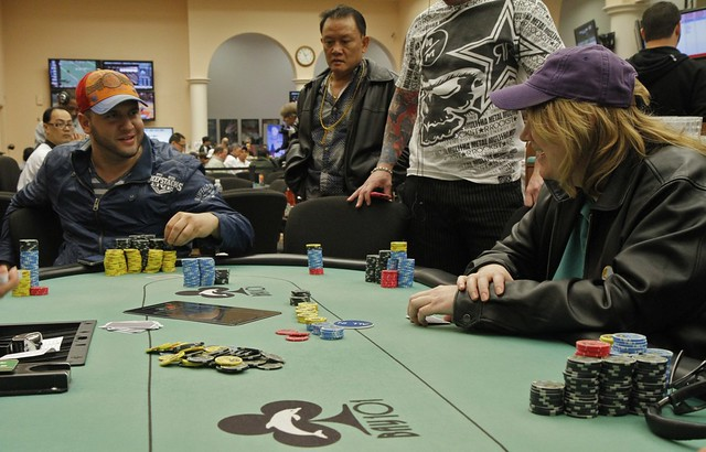 5234 Kathy Liebert Doubles Thru Michael Mizrachi