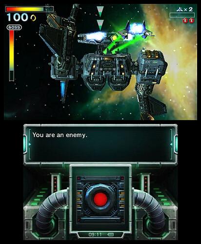 Starfox 64 3D - Boss Fight