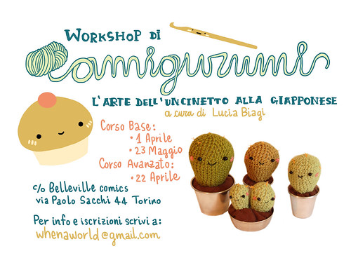 Amigurumi workshop by Whenaworld