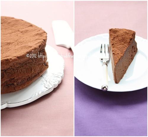 Torta morbida al cioccolato