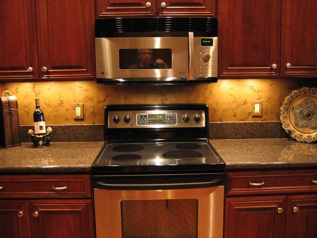 Kitchen Backsplash Faux Stone