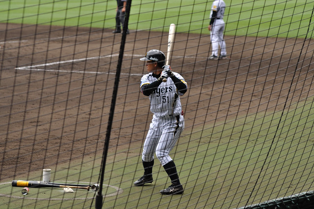 伊藤隼太外野手