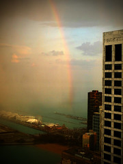St. Patrick's Day - Rainbow - Pot of Gold - Chicago Navy Pier by doug.siefken