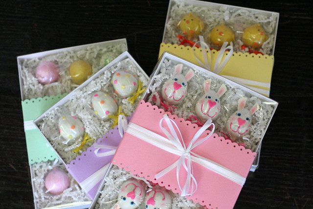 Easter Cake Pops: Easter Bunnies, Easter Eggs, Spring Chicks and Assorted Pastels