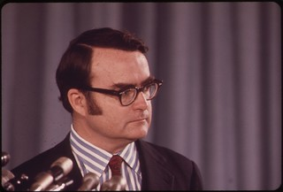 William Ruckelshaus, first administrator of EPA, May 1972