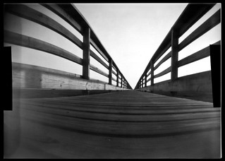 Pinhole Paper Negative No. 10 Tin Can (2 of 4) a long way