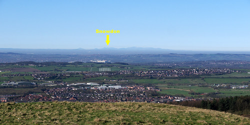 Snowdon from Winter Hill