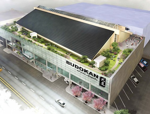rendering of the Budokan of Los Angeles (courtesy of LTSC)