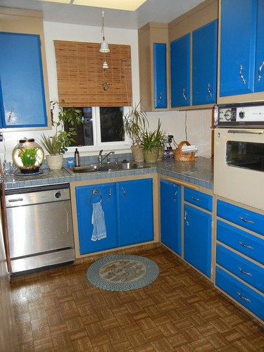 Before- small galley kitchen