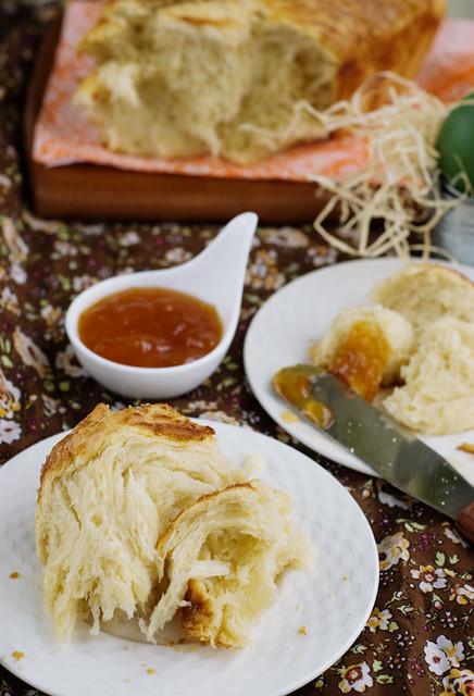 easter bread - kozunak