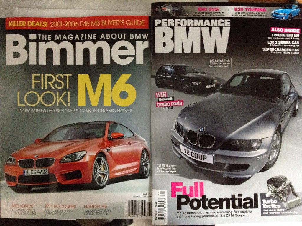 Two magazine features May 2012