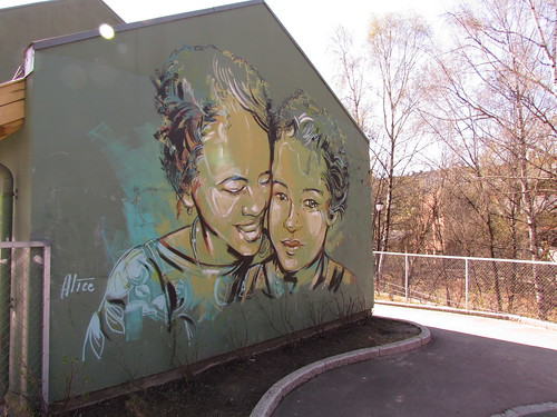 Mural painting by Alice