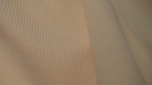 ribbed wool crepe closeup