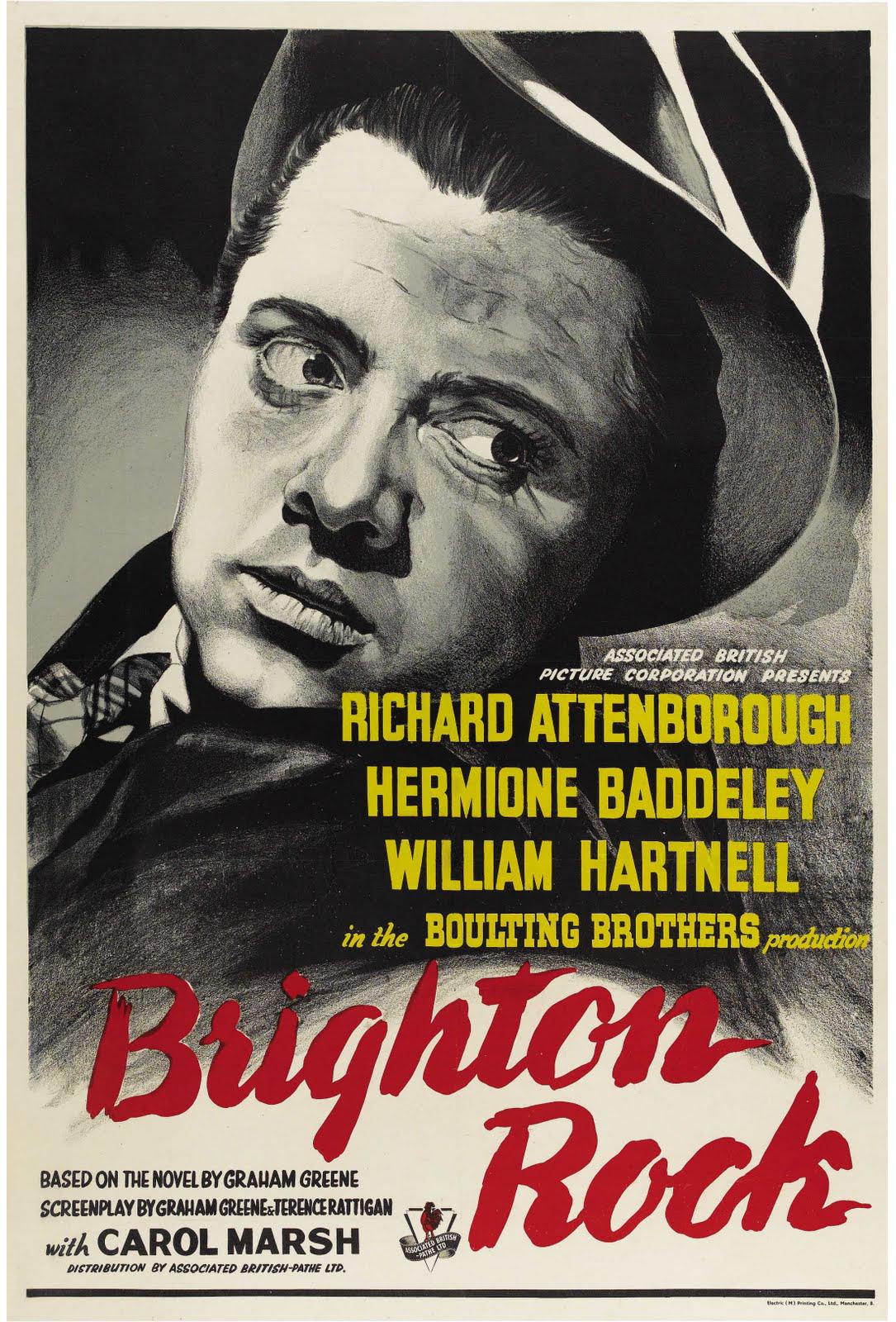 Brighton Rock Poster (1947)