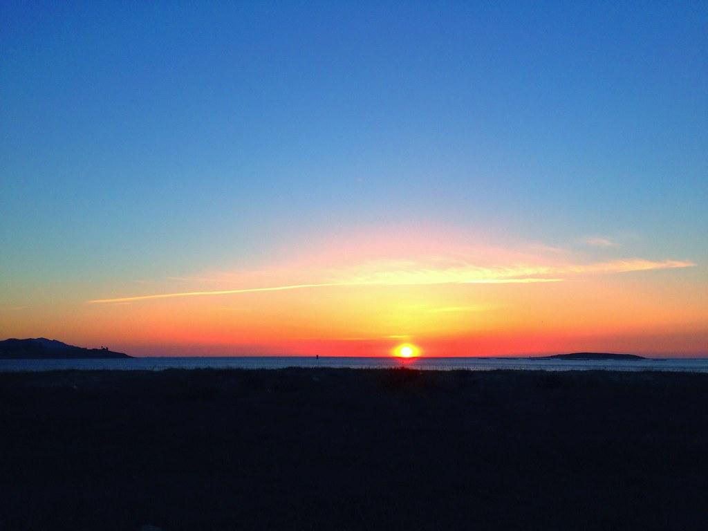 Praia América puesta de sol [168/365]