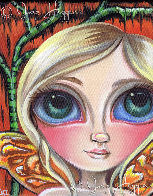 """Marsh Fairy"" Original Painting by Jaz Higgins"