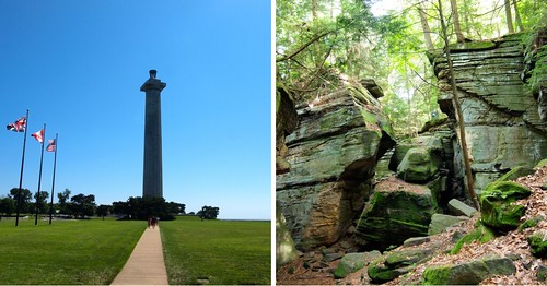 Perry's Victory Monument and Cuyahoga Valley NP