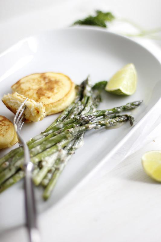 _MG_5554 Esparragos con tortitas de limón