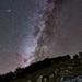 Rising Milky Way