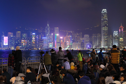 Hong Kong New Year Countdown Celebrations
