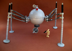Trade Federation Homing Spider Droid by Shannon Ocean