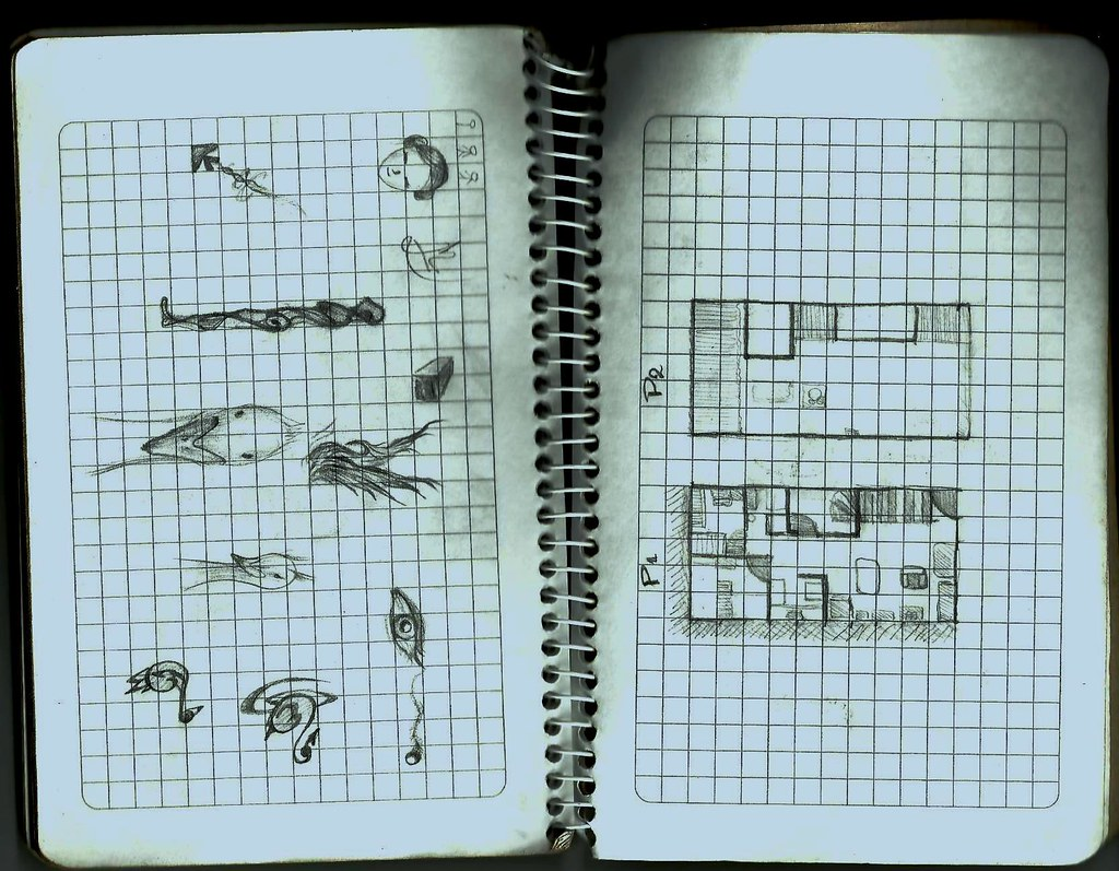 Libretas De Dibujo De Un Artista Freelance: Dibujos De Mi Libreta